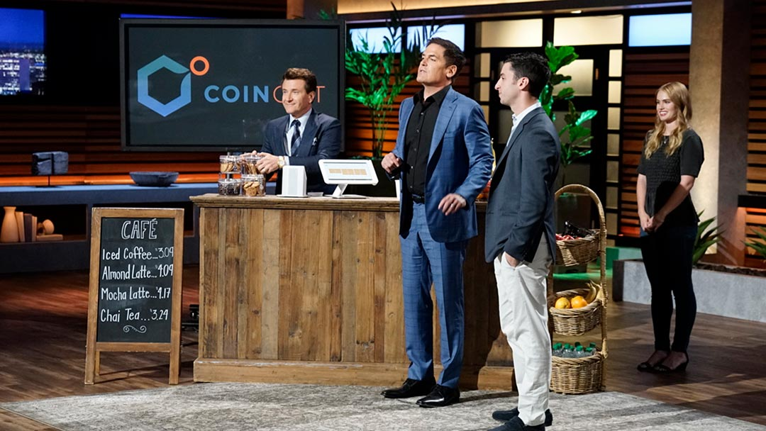 Coinout helps you cash in with your change on Shark Tank