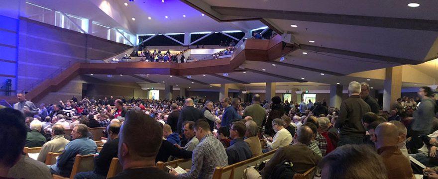 Doing God's Work - Sitting in Church
