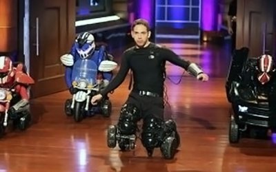 DriveSuits wearable cars scores Shark Tank deal but does not close