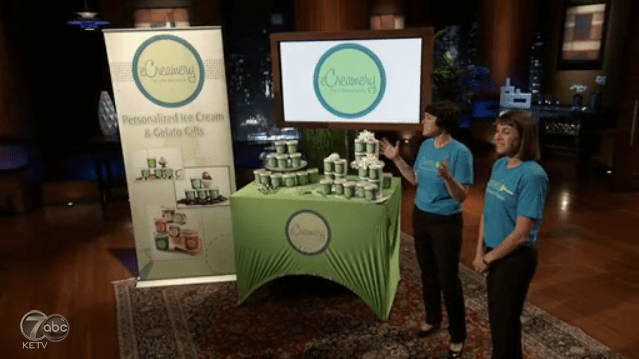 eCreamery has best ice cream on Shark Tank but misses deal