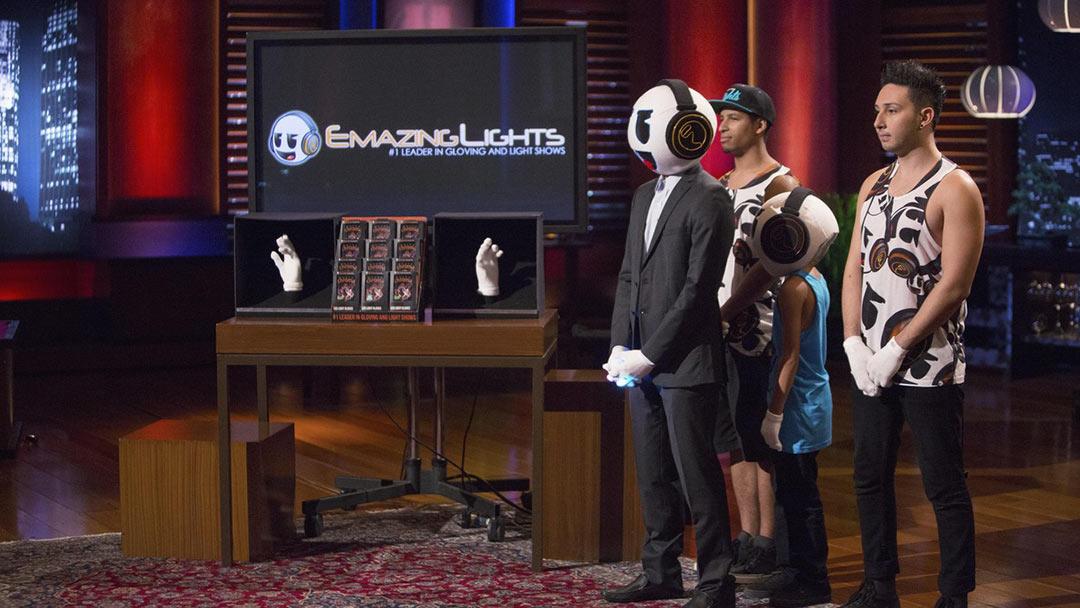 Gloving lights up Shark Tank with million dollar EmazingLights offer