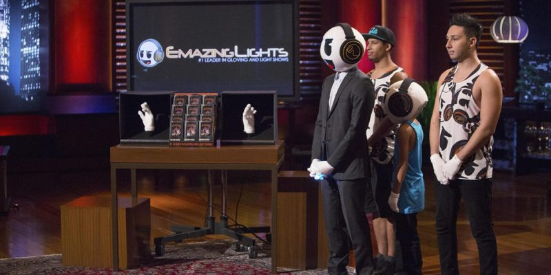 EmazingLights Gloving Shark Tank