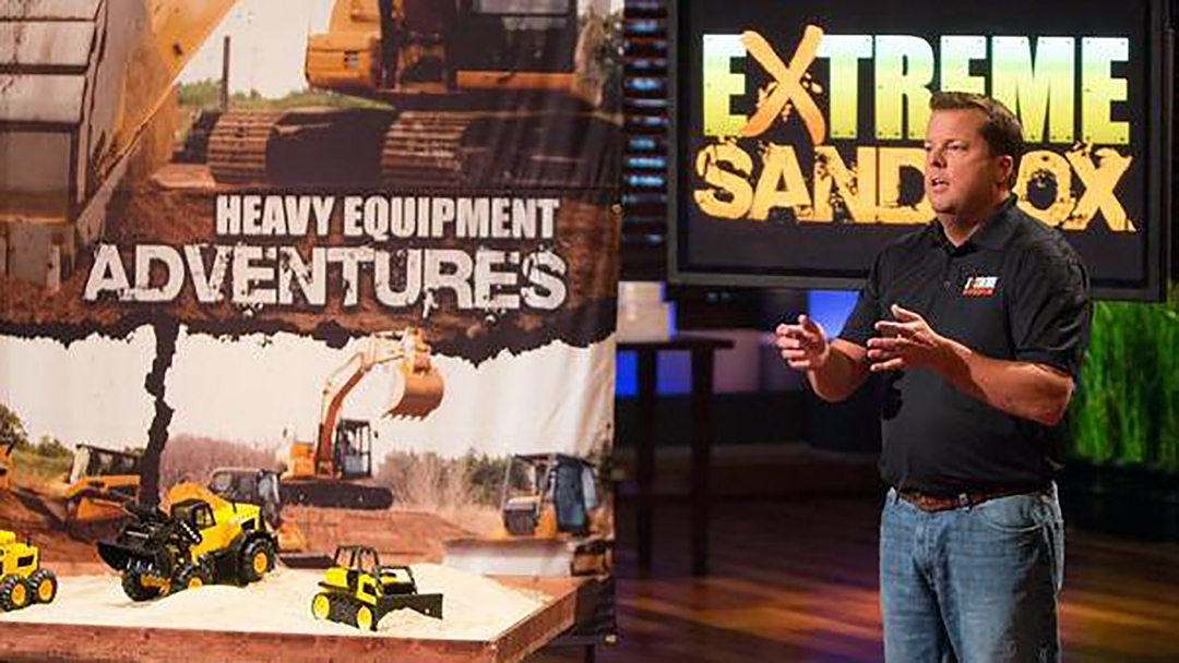 Extreme Sandbox Heavy Equipment Scores Shark Tank Deal Cuban O'Leary