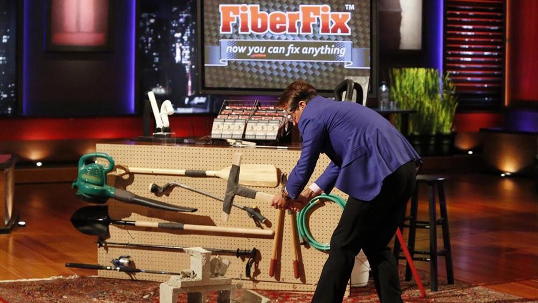 FiberFix repair tape scores Shark Tank deal with Lori Greiner