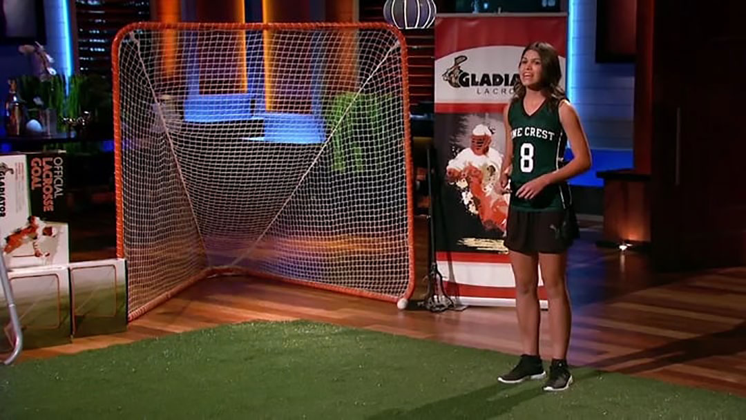 Gladiator Lacrosse – Rachel Zietz Shark Tank pitch No Deal