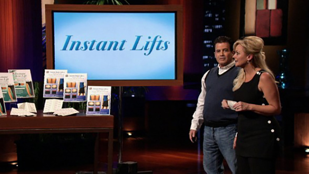 Instant Lifts Shark Tank Pitch raises sagging skin drops deal with Sharks