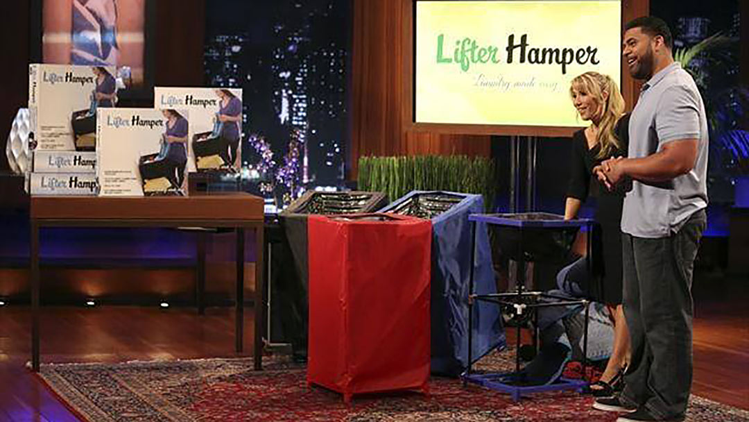 Former Pittsburgh Steeler creates Lifter Hamper misses Shark Tank Deal
