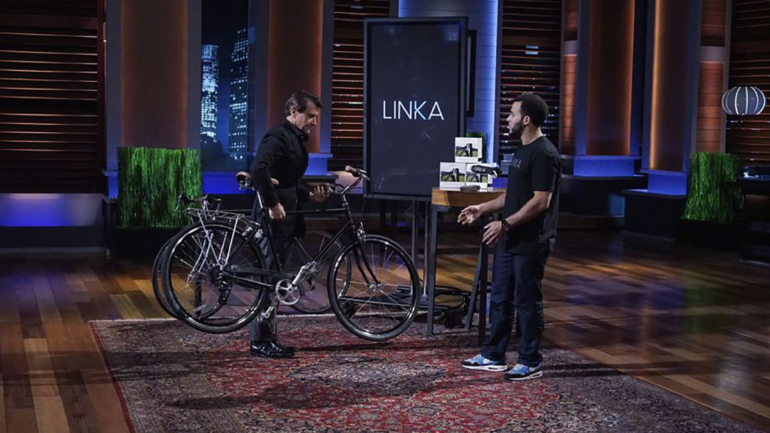 LINKA Bicycle lock notifies you if moved – Shark Tank Pitch No Deal