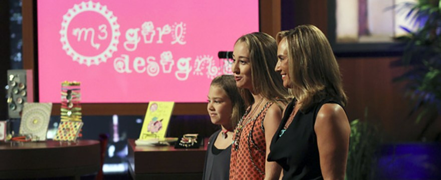 M3 Girl Designs - Shark Tank
