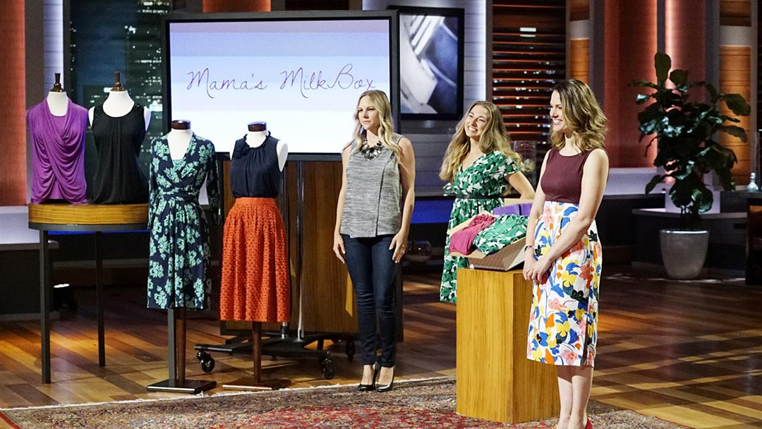 Moma's MilkBox Breastfeeding clothes subscription Shark Tank