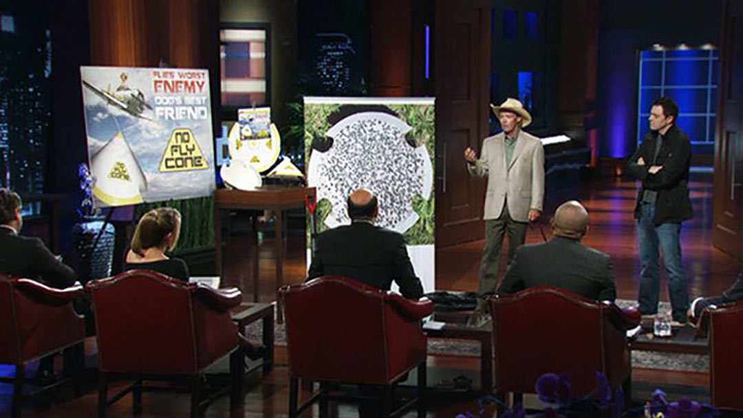 No Fly Cone Poops out after Seth McFarlane Shark Tank Pitch