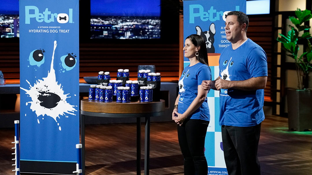 Petrol Vitamin Water for dogs in Shark Tank Pitch