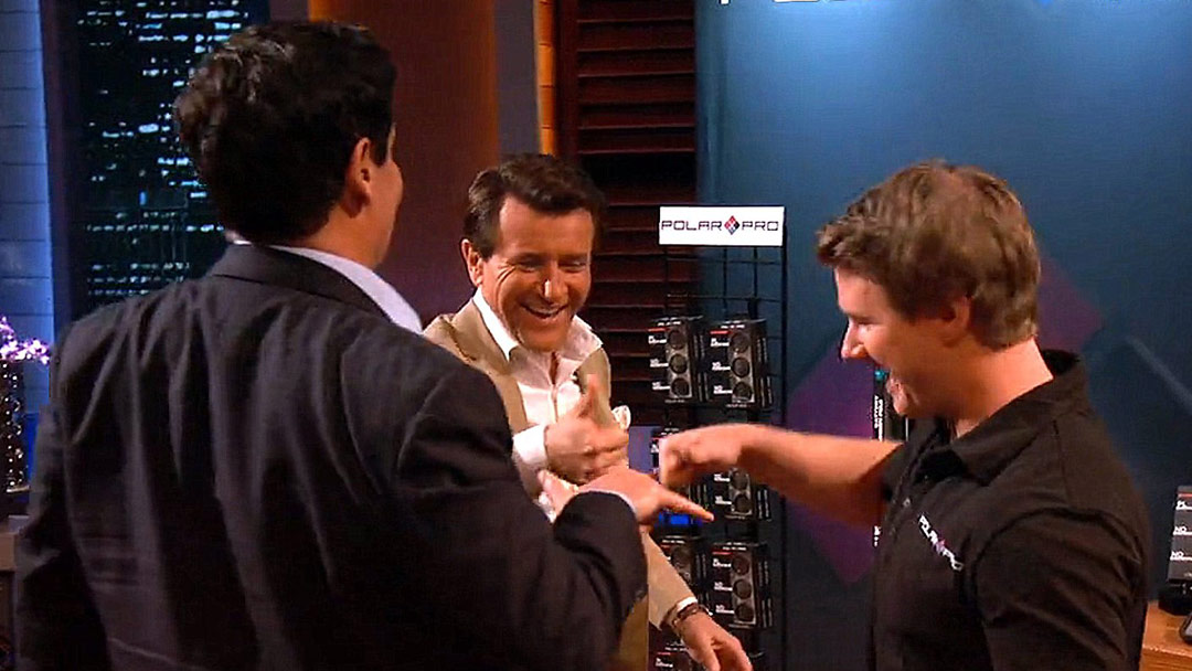 PolarPro Surfer Rocks Shark Tank $1 Million deal with Robert Herjavec and Mark Cuban