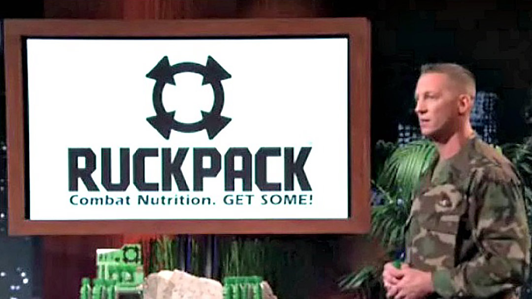 RuckPack Combat Nutrition Shark Tank Marine Deal Robert Herjavec and Kevin O'Leary