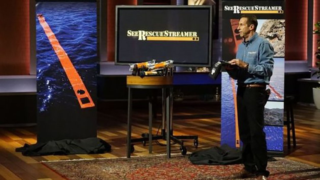 SeeRescue® Streamer saves lives – tons of praise but no Shark Tank Deal
