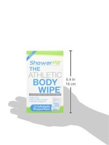 Shower Pill Body Wipe Package
