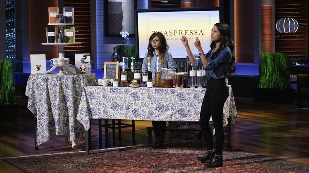 Teaspressa Tea Shots Shark Tank Pitch winds up in No Deal, but tons of potential