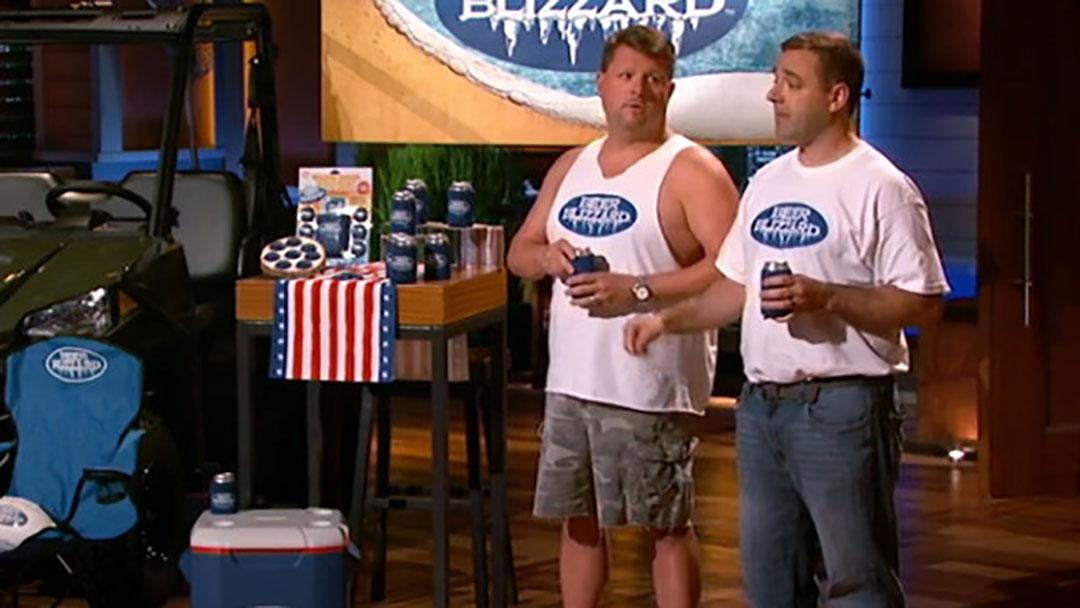 the Beer Blizzard - Shark Tank