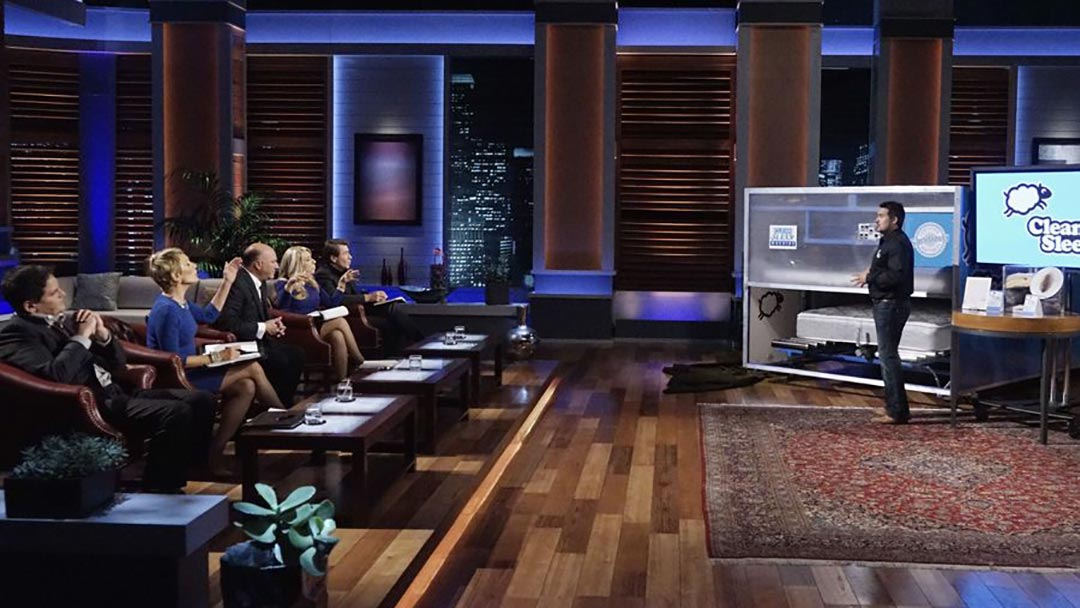 The Clean Sleep Machine Bed Cleaning Machine Misses Shark Tank Deal