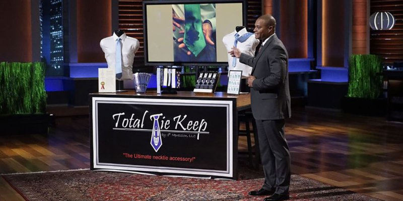 Total Tie Keep - Shark Tank