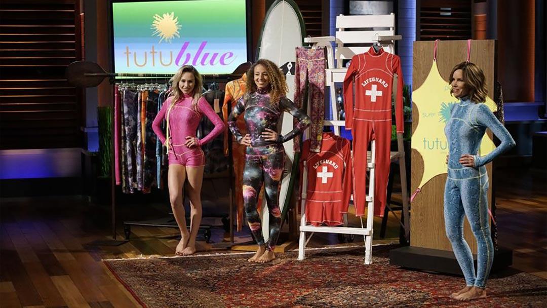 TUTUblue Swimwear Soap Opera Villain pitches Shark Tank No Deal