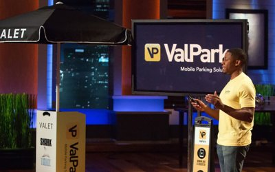 ValPark Mobile App too small for Shark Tank