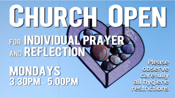 Church Open Individual Prayer