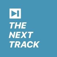 The Next Track Blue Flat Button2 400px