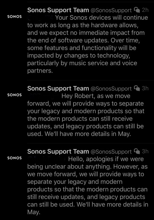 Sonos backtrack
