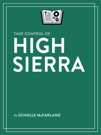 TCoHighSierra 1 1 cover