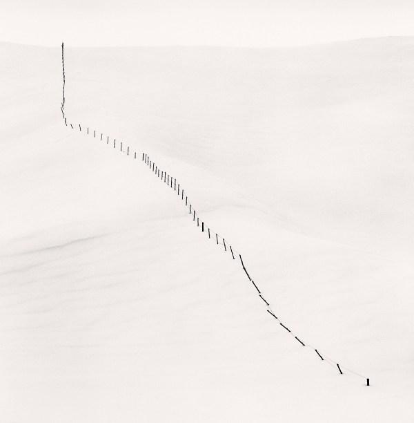 Hillside fence study 5 teshikaga hokkaido japan 2004