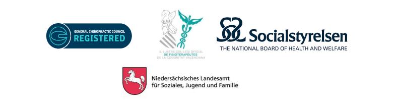 General-Chiropractic-Council-Il.Lustre-Col.legi-Oficial-de-Fisioterapeutes-Comunidad-Valenciana-Socialsyrelsen-National-Board-of-Health-&-Welfar-Niedersächsisches-Landesamt-für-Soziales,-Jugend-und-Familie