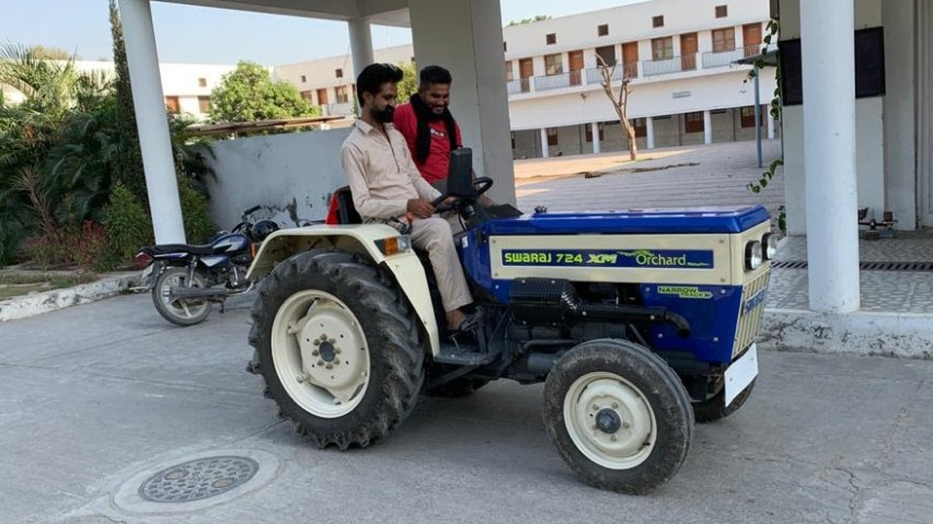 The new tractor