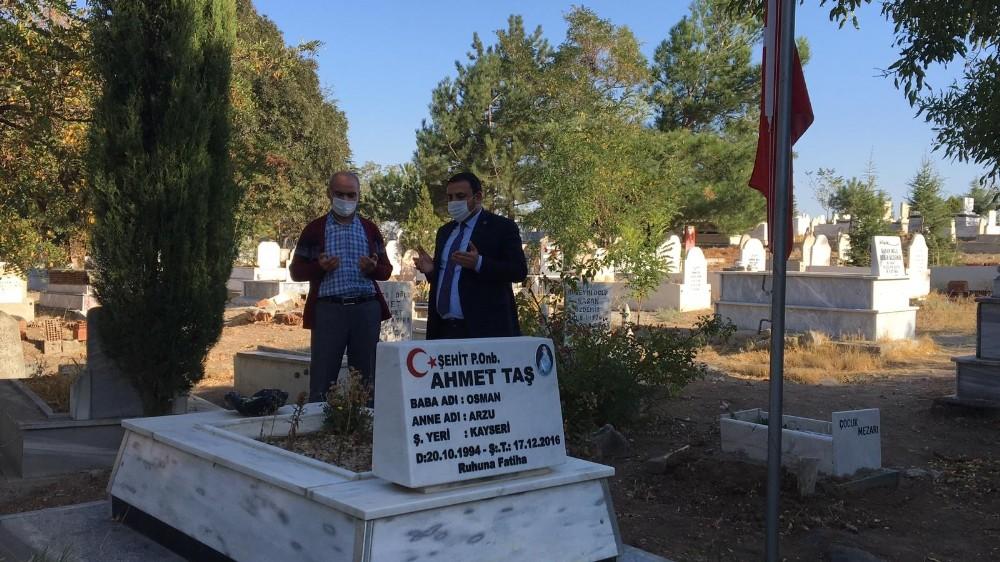 """Kayseri saldırısı şehidi Ahmet Taş'ın babası Osman Taş: """"Cumhurbaşkanımıza teşekkür ediyorum"""""""
