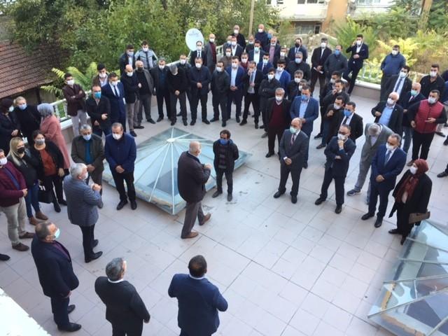 AK Parti'de koordinatörler adaylarla görüşüyor
