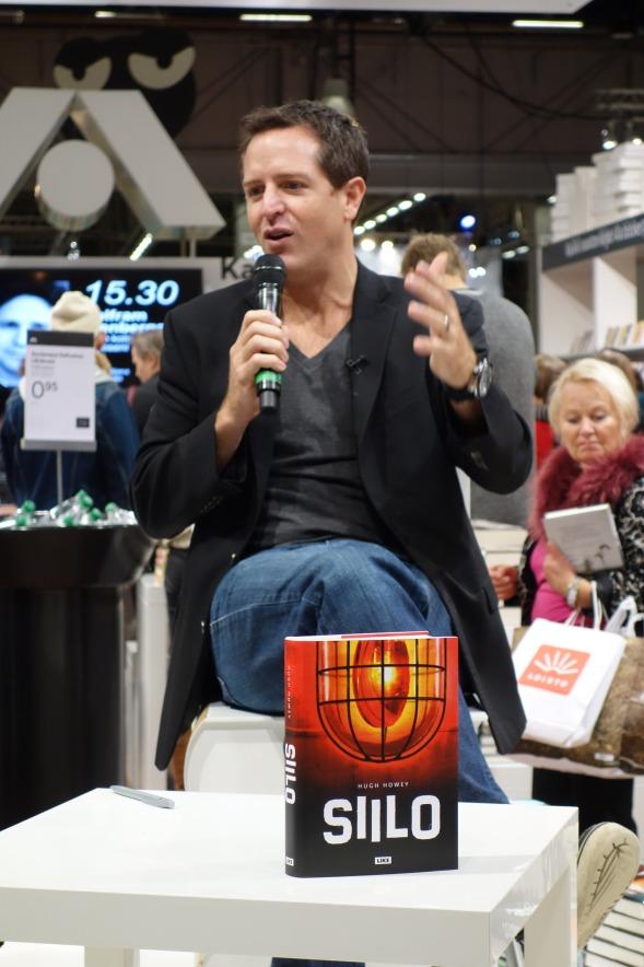 Hugh Howey Helsingin Kirjamessuilla 2013