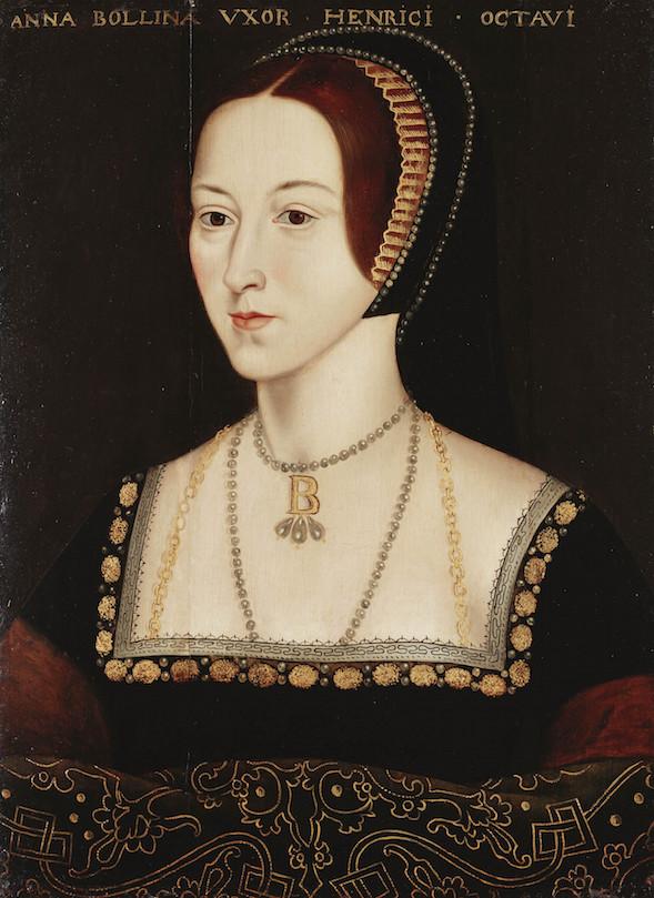 Anne Boleynista ei ole yhtään aikalaismuotokuvaa, mutta tätä pidetään hyvänä arvauksena hänen ulkonäöstään. kuvaRoyal Collection Trust/© Her Majesty Queen Elizabeth II 2014