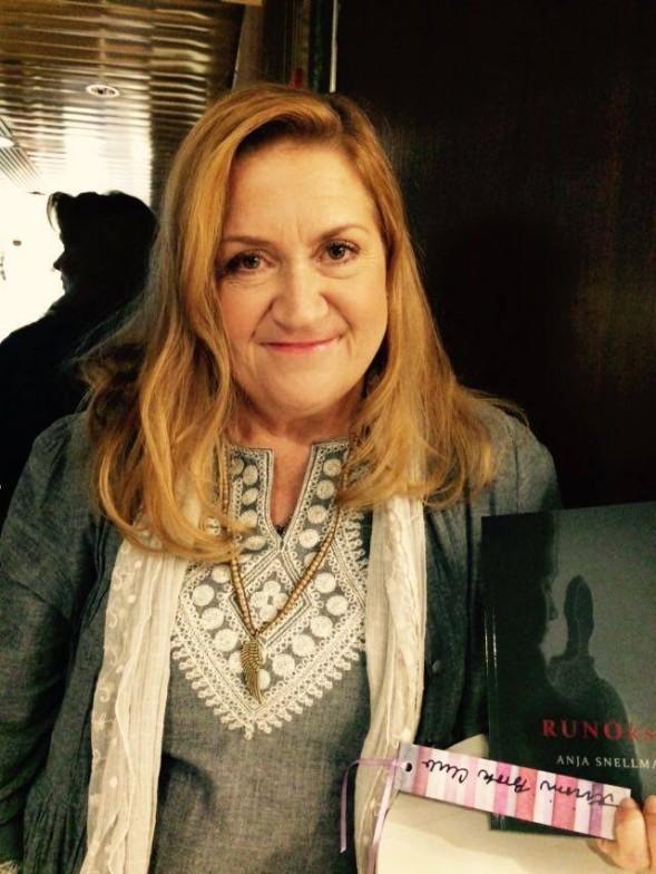 Anja Snellman sai Kirsin Book Clubin kirjanmerkin