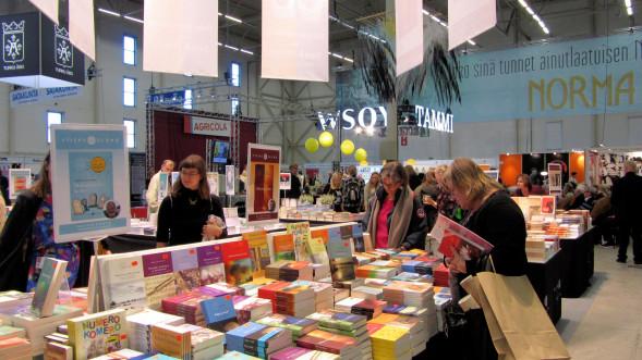 Turun Kirjamessujen yleisilmettä 2015