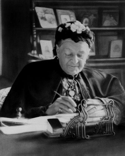 Aurora Karamzin on yksi Suomen historian vaikuttajanaisia. Espoon perinneseuran tavoitteena on saada liputuspäivä Aurora Karamzinille vuonna 2017. Kuva Helsingin kaupunginmuseo.