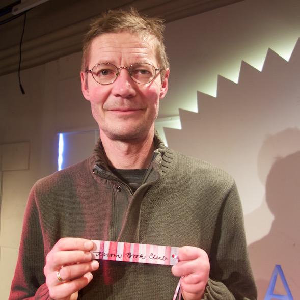 Juha Hurme sai Kirsin Book Clubin kirjanmerkin