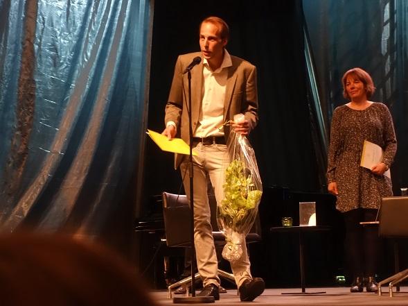 Jarl Hellemann -palkinnon voittaja Antero Tiittula.