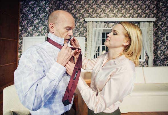 Kari Heiskanen ja Anna-Maija Tuokko ovat oikeassa elämässä pari ja pienen tytön vanhempia.