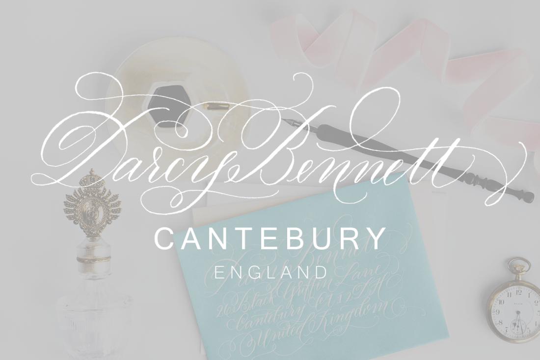Darcy Bennett | KACD Lettering Styles