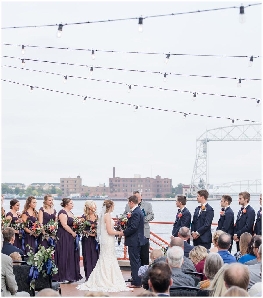 Pier B Wedding Duluth Minnesota