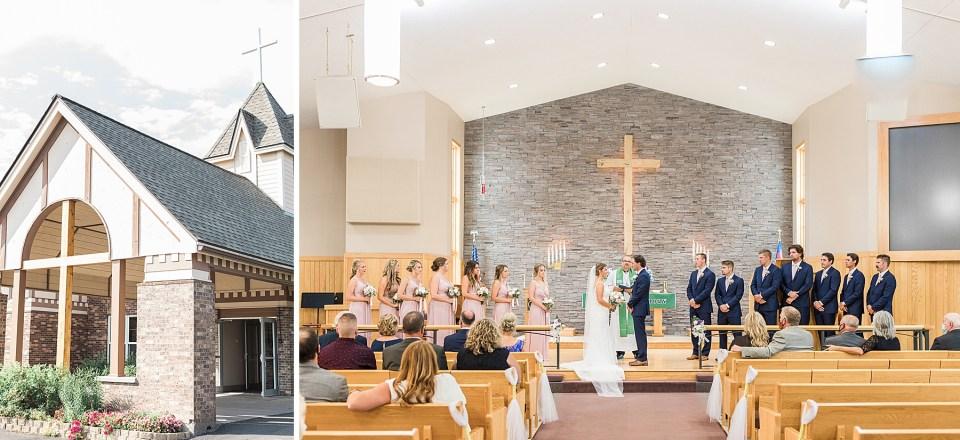 Kirsten Barbara Photography - a wedding photographer in Duluth, Minnesota - photographed the Koepke wedding.