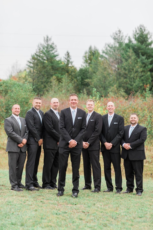 Fall Wedding in Michigan