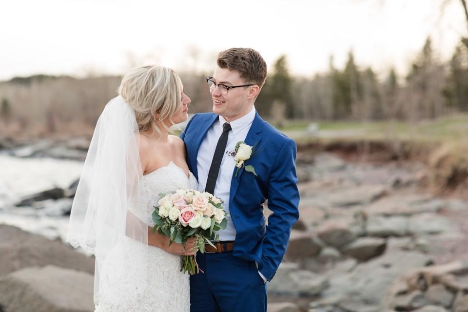 Intimate Duluth Wedding