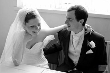 Just married in Sheffield