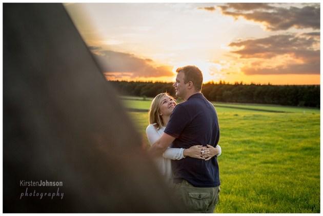 engagement, shoot, peak district, couple, love, photography, wedding, ring, nature, sunset, romance